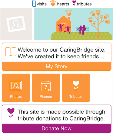 Easy Communication for Caregivers, Families Through App
