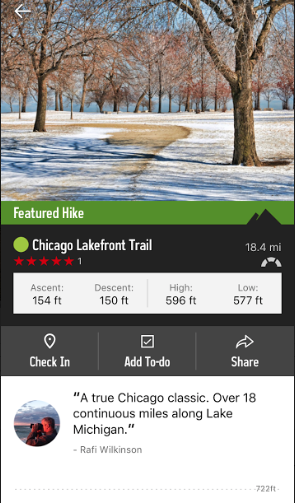 Find a Place to Take a Hike Before Summer Disappears Using App