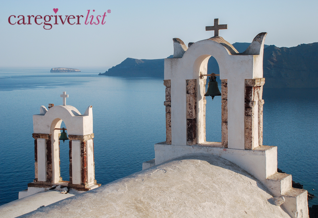 Stress Relief Photo:  Calming View Over the Aegean