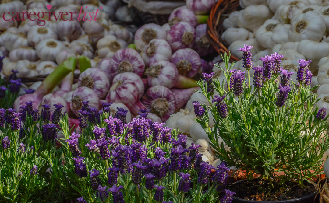 Stress Relief Photo: Lavender at the Market