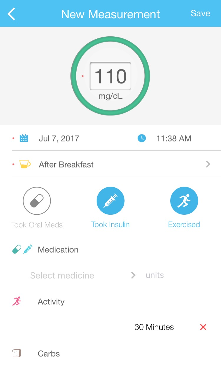 Blood Glucose App Helps Caregivers Track Diabetes