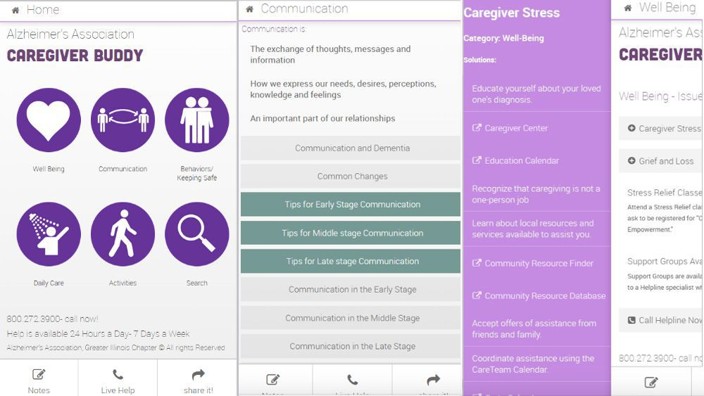 Caregiver Buddy App for Caregivers