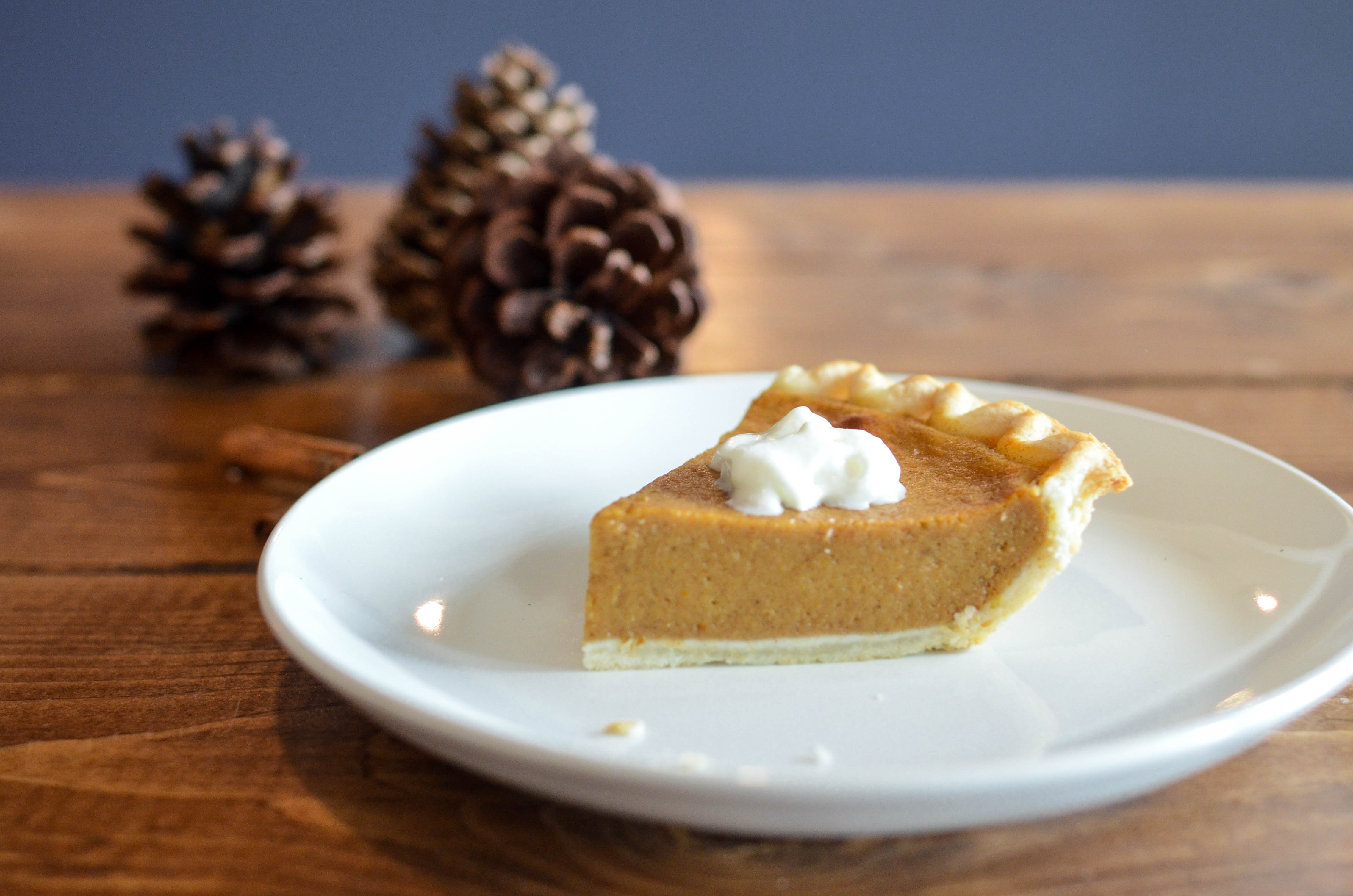 5-Ingredient Pumpkin Pie