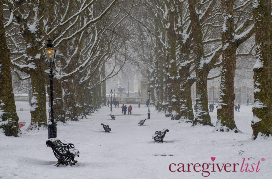 Stress Relief Photo:  Winter in London