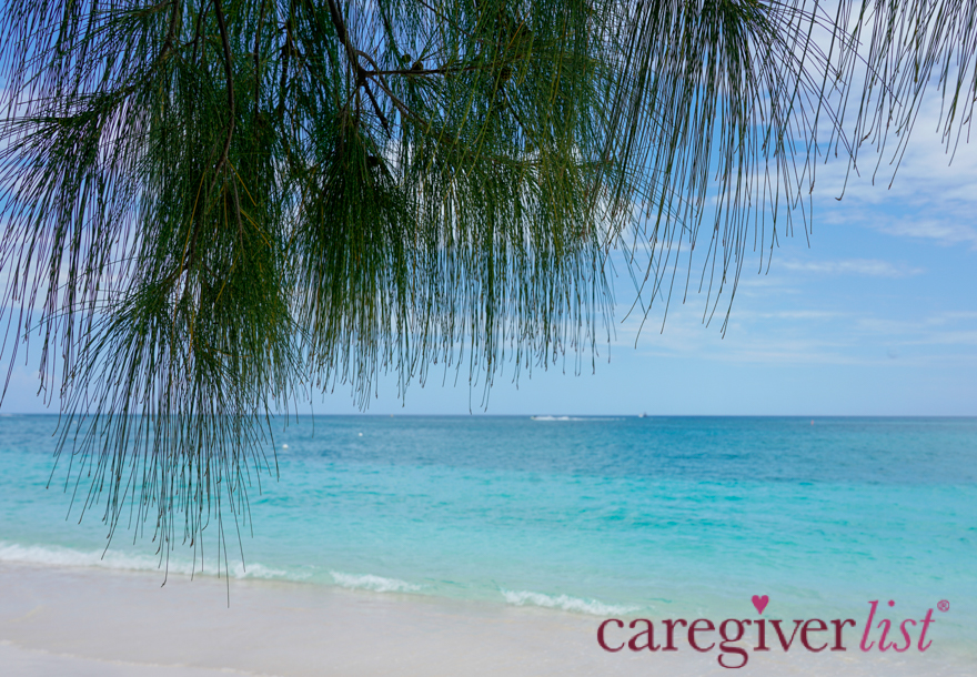 Stress Relief Photo: Caribbean Blues