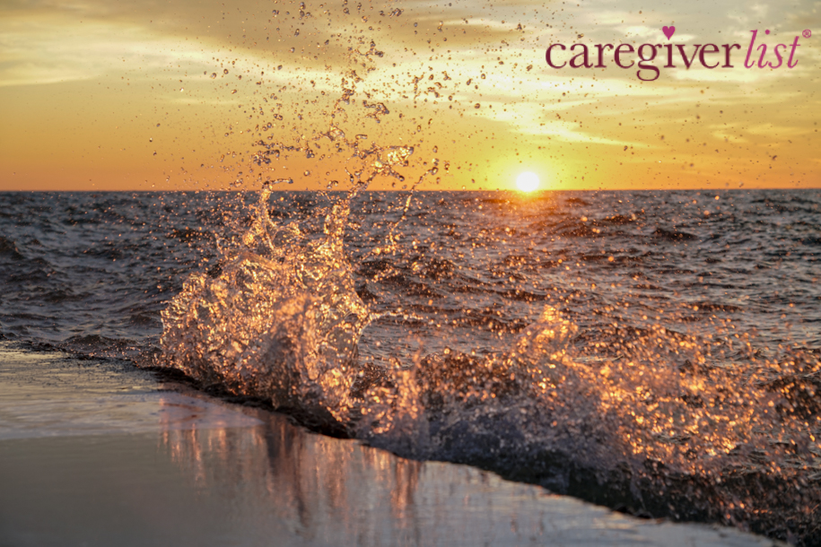 Sunrise Splash for Caregiver Stress Relief