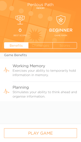 Brain Games in App Keep Brain Active and Prevent Dementia